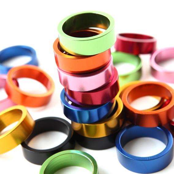 Цветные проставочные кольца