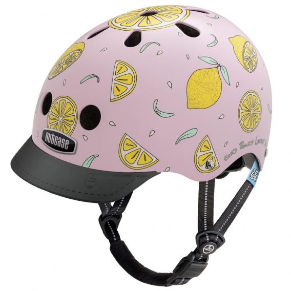 Шлем Nutcase Little Nutty Pink Lemonade