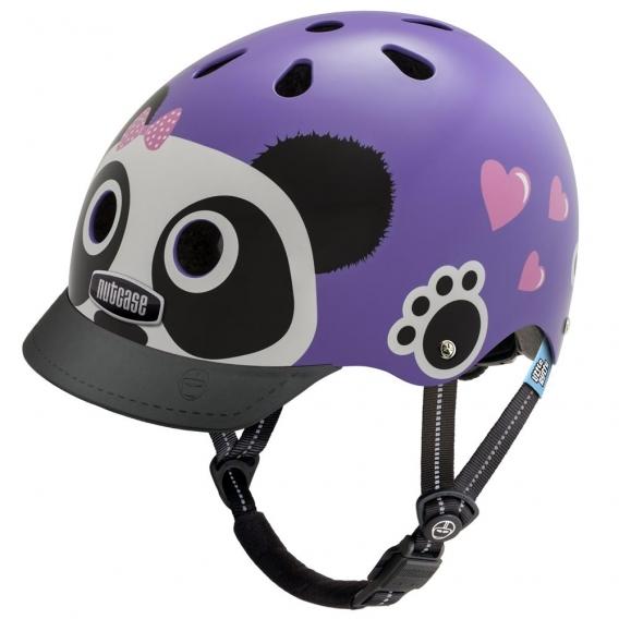 Шлем Nutcase Little Nutty Purple Panda