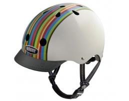 Rainbow Stripe Bike