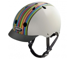 Rainbow Stripe Bike
